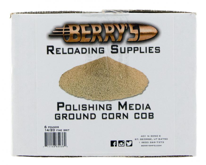 Berrys 85436 Corn Media 14/20 Grit