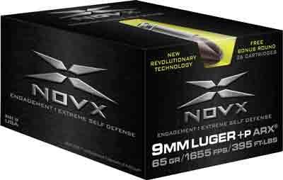 Novx Ammo 9mm + P 65gr.