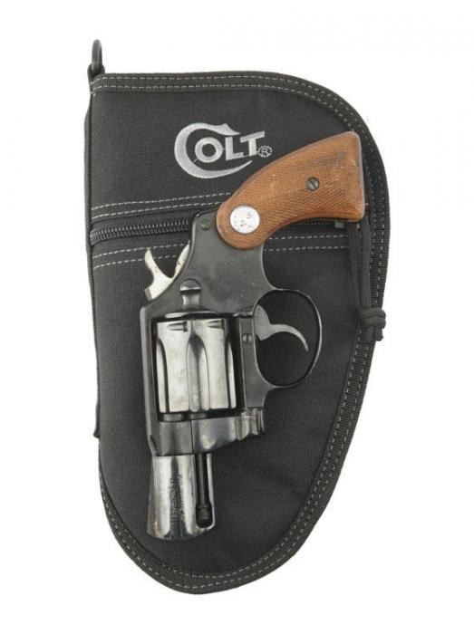 "Drago Colt 9.5"" Pistol Case Black"