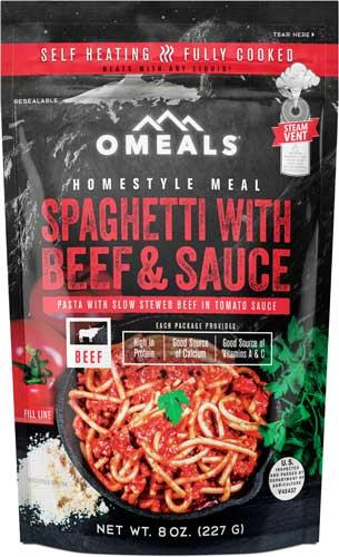 Omeals Spaghetti W/ Beef And