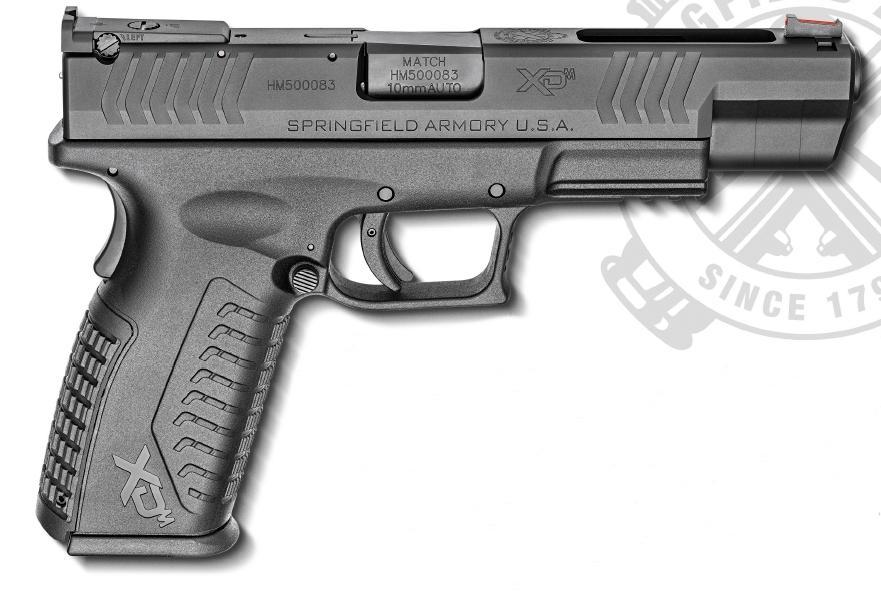 "Springfield XDM 10mm Black 5.25"" 15rd"