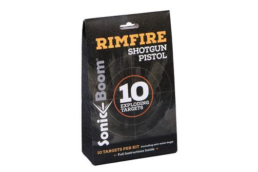 Rimfire Exploding Targets - 10 Targets