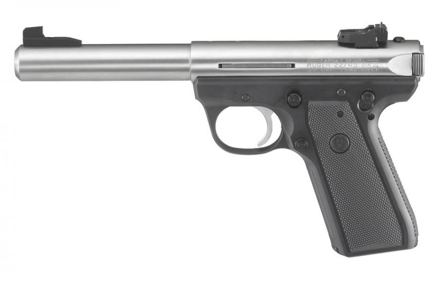 "Ruger 22/45 Mkiii Target 5.5"" Stainless"