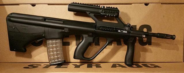 Steyr Arms Black AUG 1 5x Scope | USA Firearms