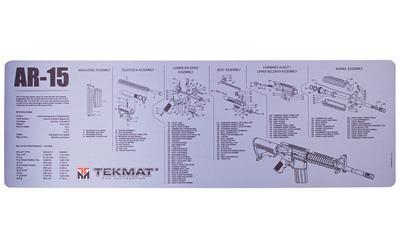 Tekmat Rifle Ds Mat Ar15 Blk/gry