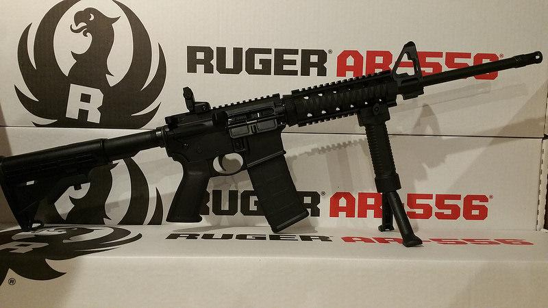 Ruger Ar556 With Quad Rail and