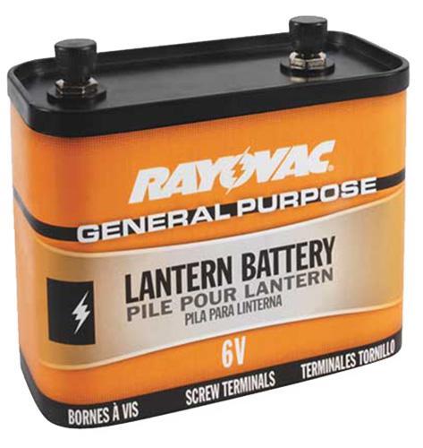 Rayovac 918 6V Lantern Battery With