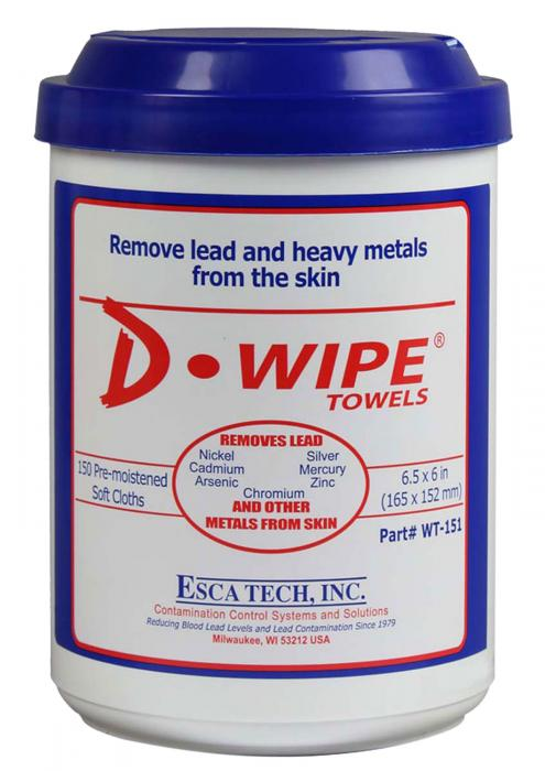 ETI Wt-150 D-wipe Disposable Towel 150ct
