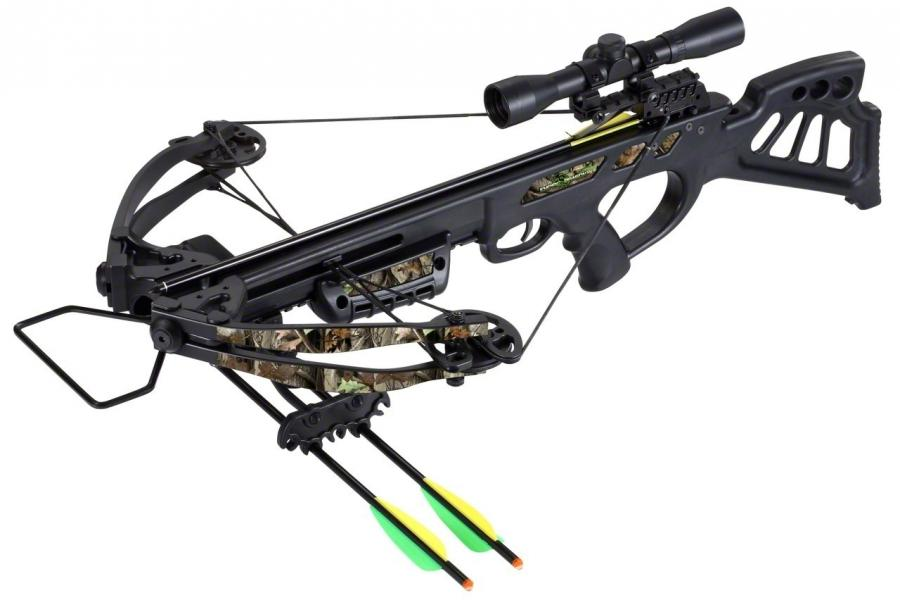 SA Sports Empire Dragon Crossbow Package   Elk Bomb Shooting