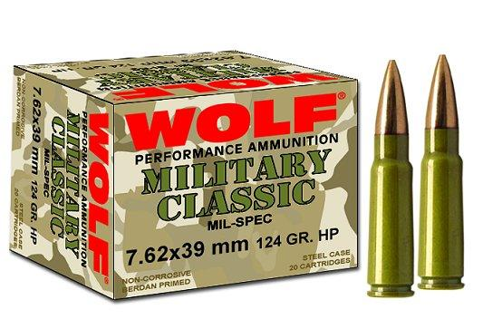 Wolf Military 7.62mmx39mm Full Metal Jacket
