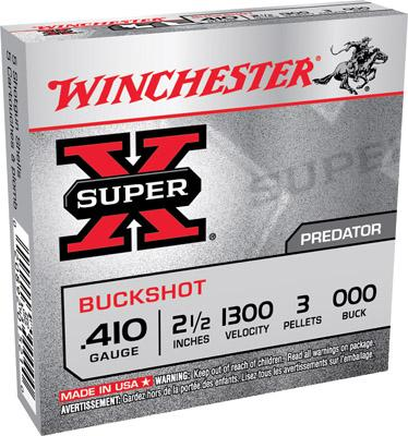Win Xb410000 Super X Buckshot 410