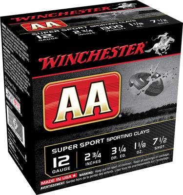 Winchester Aasc1275 AA Target Loads 12