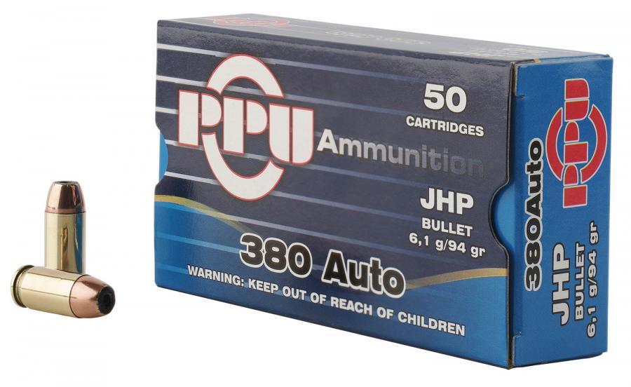 PPU Ppr3.21 Handgun 380 Automatic Colt
