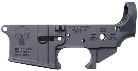 Spikes Stls015 Stripped Lower Punisher Ar-15