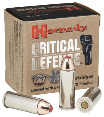 Hornady Critical Defense 9mmx18mm Makarov Critical