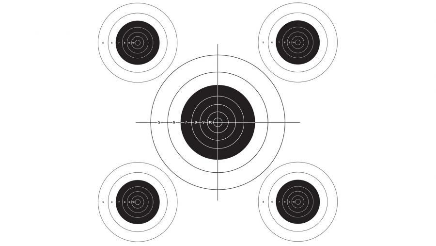 Lym Bullseye Target Roll
