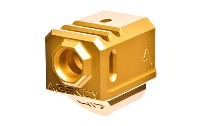 Agency 417 Compensator Gen3 Gold