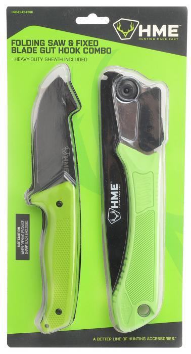 "HME Hmeknfbgh Fixed Blade 3.5"" 420hc"