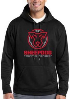 Large Sheepdog Hooded Sweatshirt