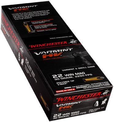 Winchester Ammo X22m2pt Supreme 22 Magnum
