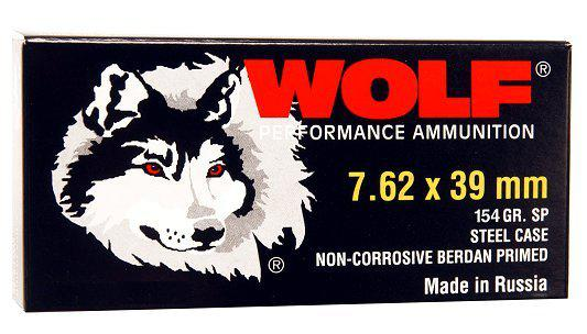 Wolf Performance 7.62mmx39mm Soft Point 125