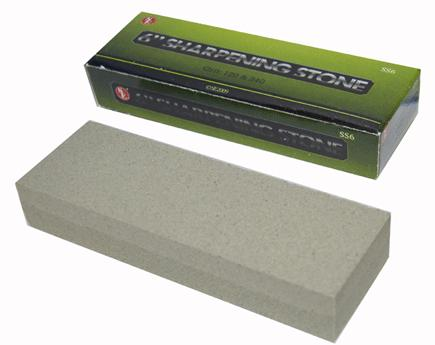 "6"" Dbl-sided Sharpening Stone - 120/240"