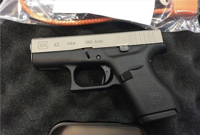 Glock 42 Nickel Boron