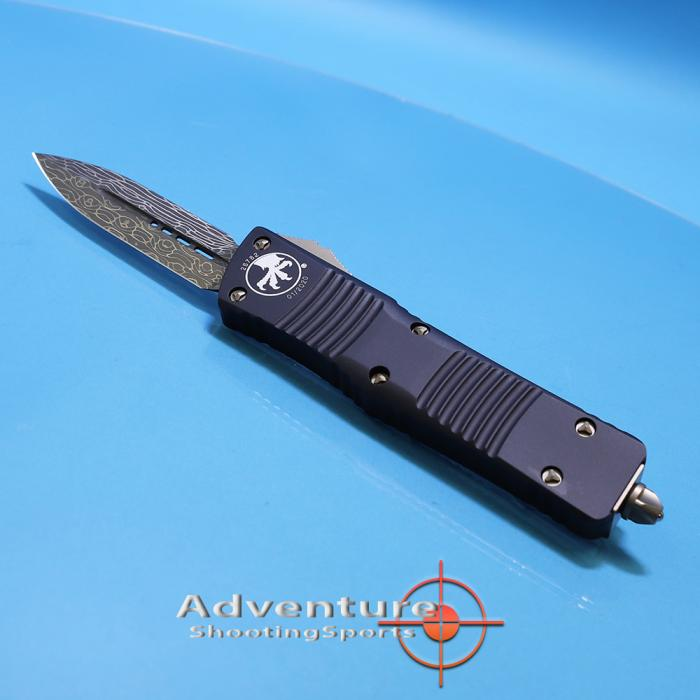142-16 Microtech Combat Troodon Damascus
