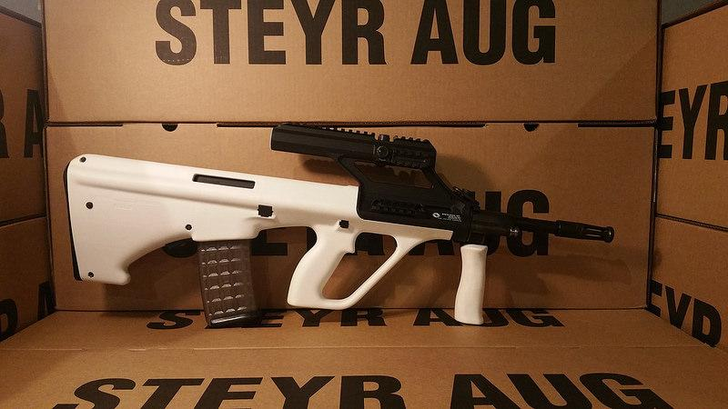 Steyr Arms AUG White 3.0x Scope
