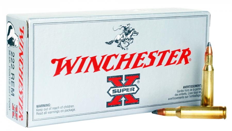 Winchester Ammo Super X 222 Remington