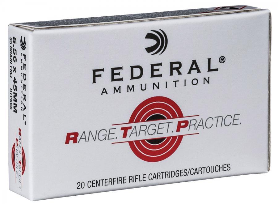 Federal RTP 5.56mm 55gr FMJ 20rd