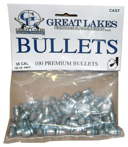 Great Lakes Bullets .38/.357