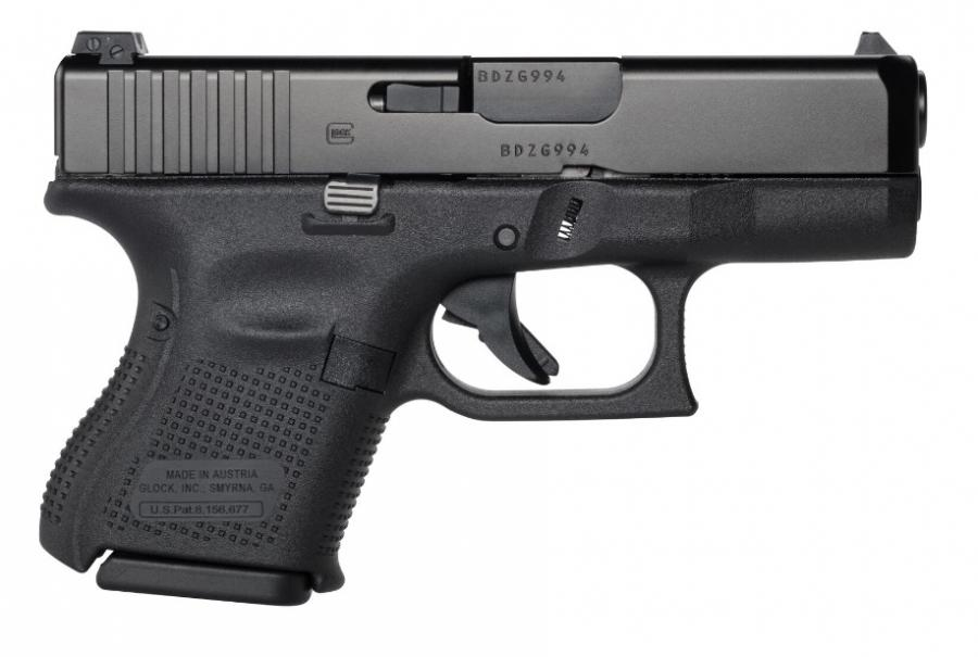 "Glock 26 Gen5 9mm 10+1 3.46"""