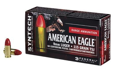 Federal Am Eagle 9mm 115gr TSJ