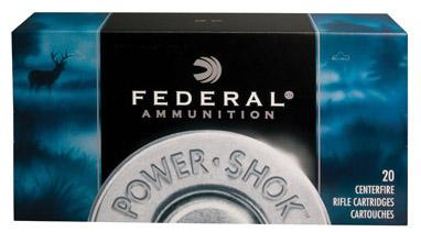 Federal Power-shok 22-250 Remington Soft Point