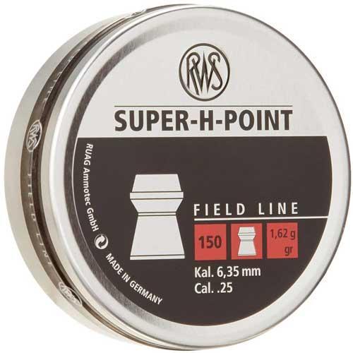 Rws Pellets .25 Super-h-point