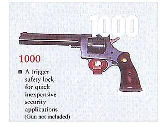 Shot Lock Trigger Lock