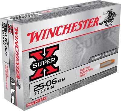 Win Ammo Super X 25-06 Rem