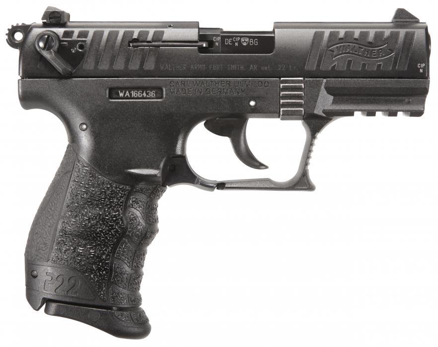 Walther P22qd 22lr 10rd 3.4b Tb