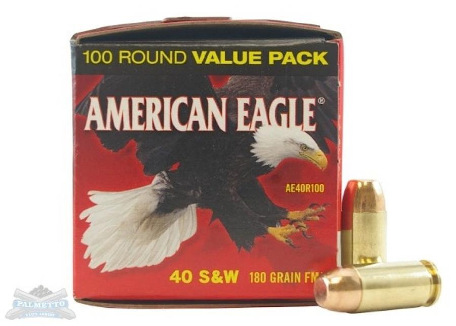 Federal American Eagle Standard 40 S&W