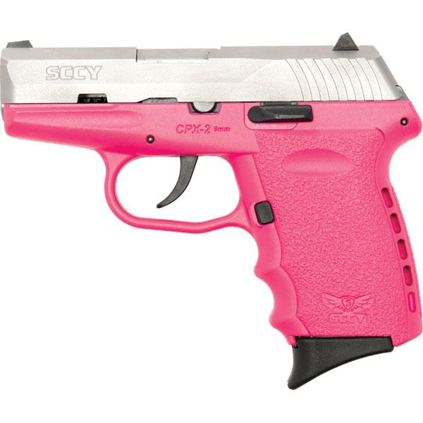 Sccy Cpx2 9mm 10rd Ss/pink
