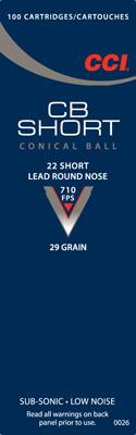 CCI Low Noise/training/specialty 22 Short Round