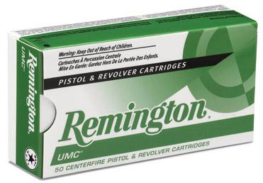 Remington Ammunition UMC 9mm Metal Case