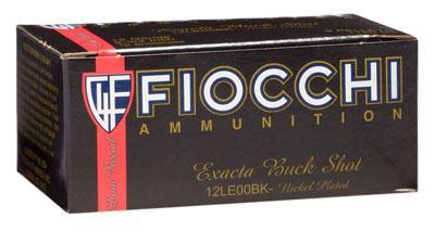 """Fiocchi HV Buckshot 12 ga 2.75"""""""