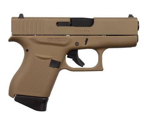 Glock 43 9mm FDE 6rd