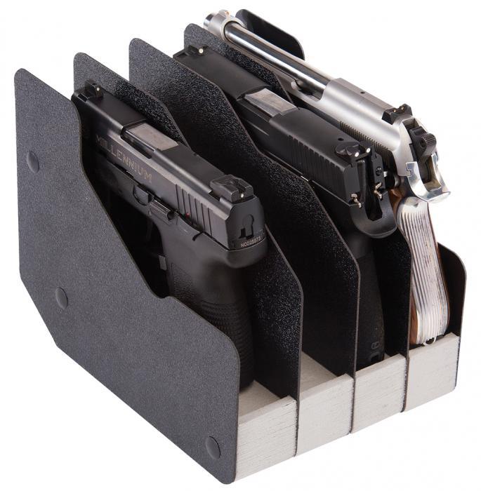 Pre 4 Gun Pistol Rac