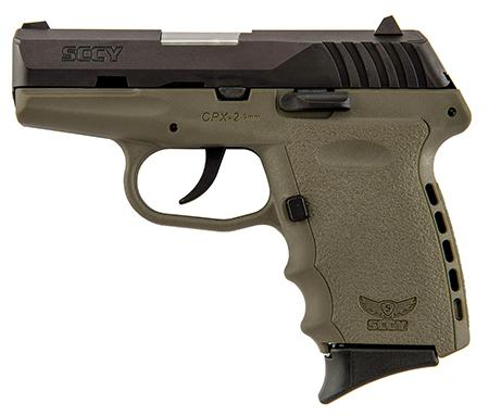 Sccy Cpx2 9mm DAO 10rd FDE