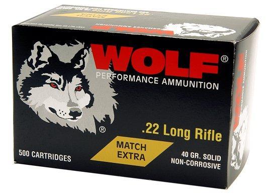 Wolf 22 Long Rifle Match Rimfire