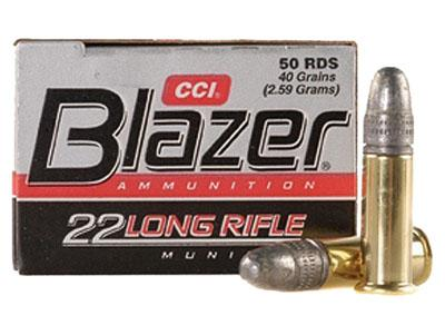 CCI Blazer 22 Long Rifle Lead