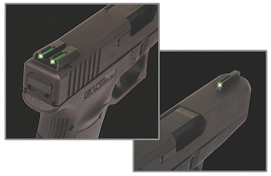 Truglo TFO Fiber Optic Glock 17,19,22,23,24,26,27,33,34,35,38,39